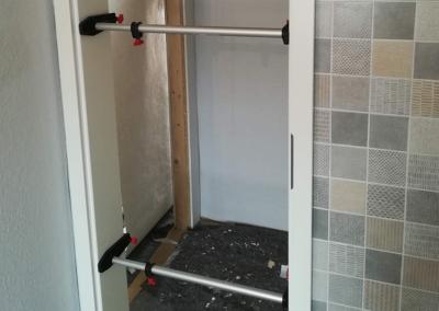 Renovierung Trockenbau Tür